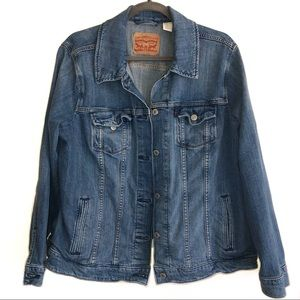 Levi Strauss Classic Jean Jacket w/ Inside Pockets